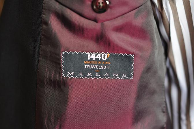 DSC0125-5 オーダースーツの紹介-MARLANE 1440 無地ネイビースーツ-