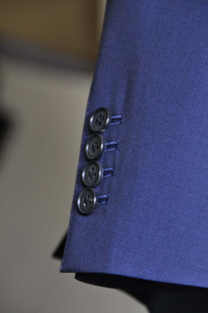 DSC0127-1 お客様のスーツの紹介- Canonico 無地ネイビースーツ-