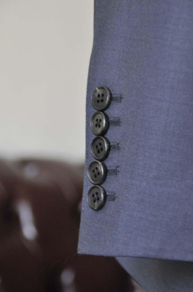 DSC0129-1 お客様のスーツの紹介- DOEMEUIL AMADEUS 無地ネイビースリーピーススーツ-
