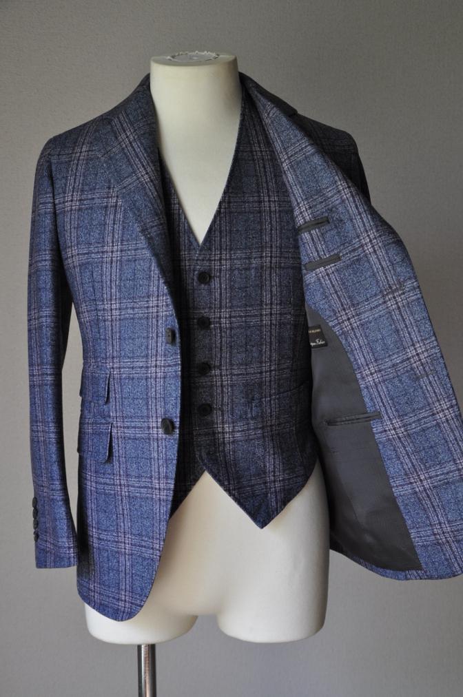 DSC0129 お客様のジャケット・ベストの紹介-TALLIA DI DELFINOチェックフランネル-