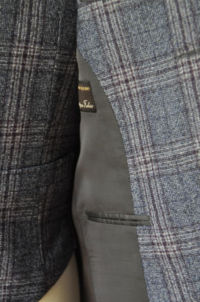 DSC0130 お客様のジャケット・ベストの紹介-TALLIA DI DELFINOチェックフランネル-
