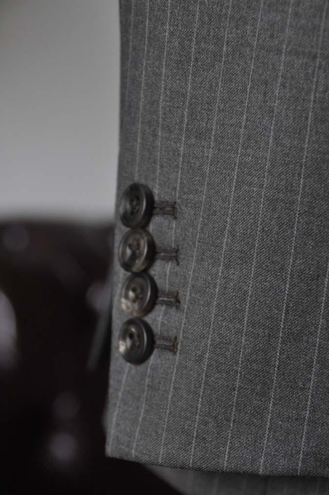 DSC0132-2 お客様のスーツの紹介- Biellesi グレーストライプスリーピース-