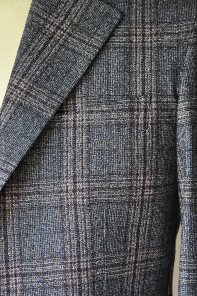 DSC0133 お客様のジャケット・ベストの紹介-TALLIA DI DELFINOチェックフランネル-