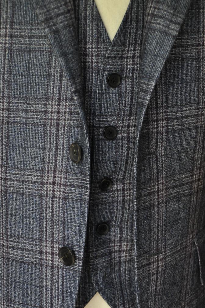 DSC0134 お客様のジャケット・ベストの紹介-TALLIA DI DELFINOチェックフランネル-