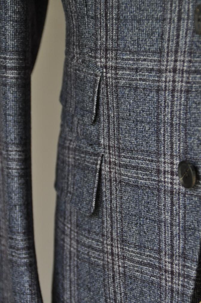 DSC0136 お客様のジャケット・ベストの紹介-TALLIA DI DELFINOチェックフランネル-