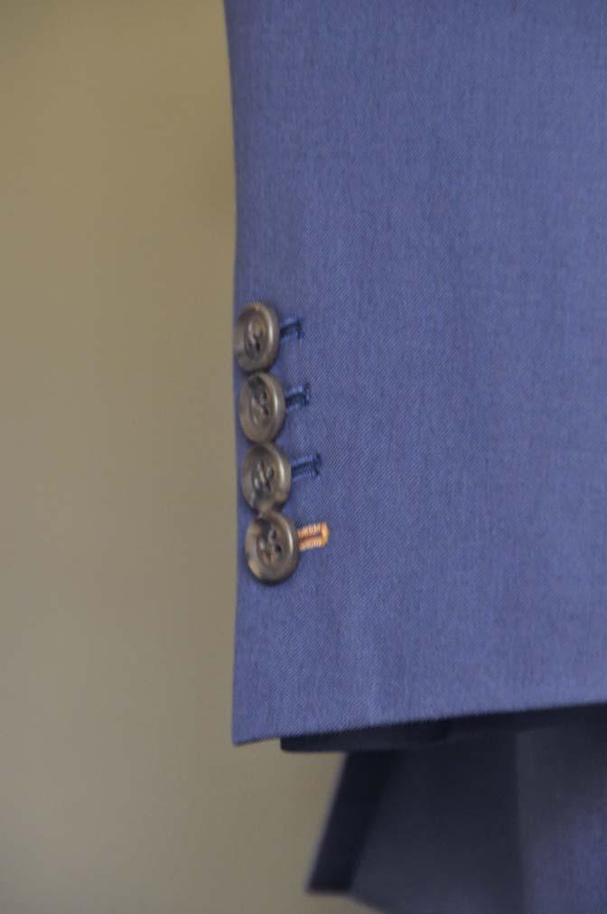 DSC0142-1 お客様のスーツの紹介- Biellesi 無地ネイビースーツ-