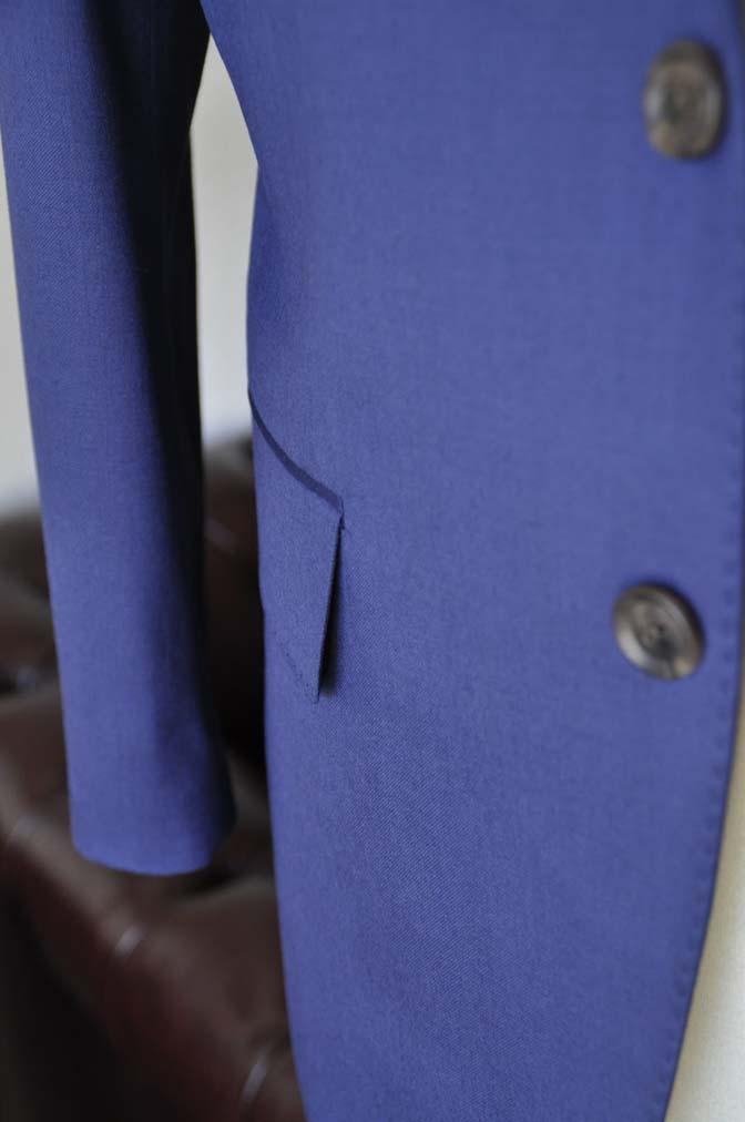 DSC0151-1 お客様のスーツの紹介- Biellesi 無地ネイビースーツ-