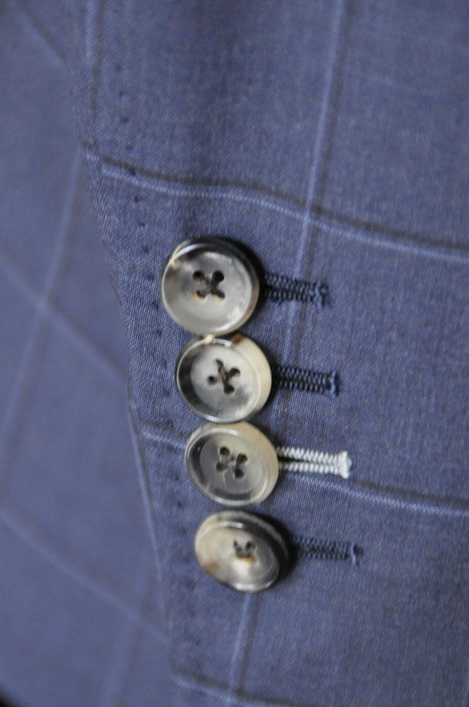 DSC01511 お客様のスーツの紹介-TALLIA DI DELFINO ネイビーウィンドペン -