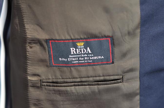 DSC0153-5 オーダースーツの紹介-REDA無地ネイビースーツ-