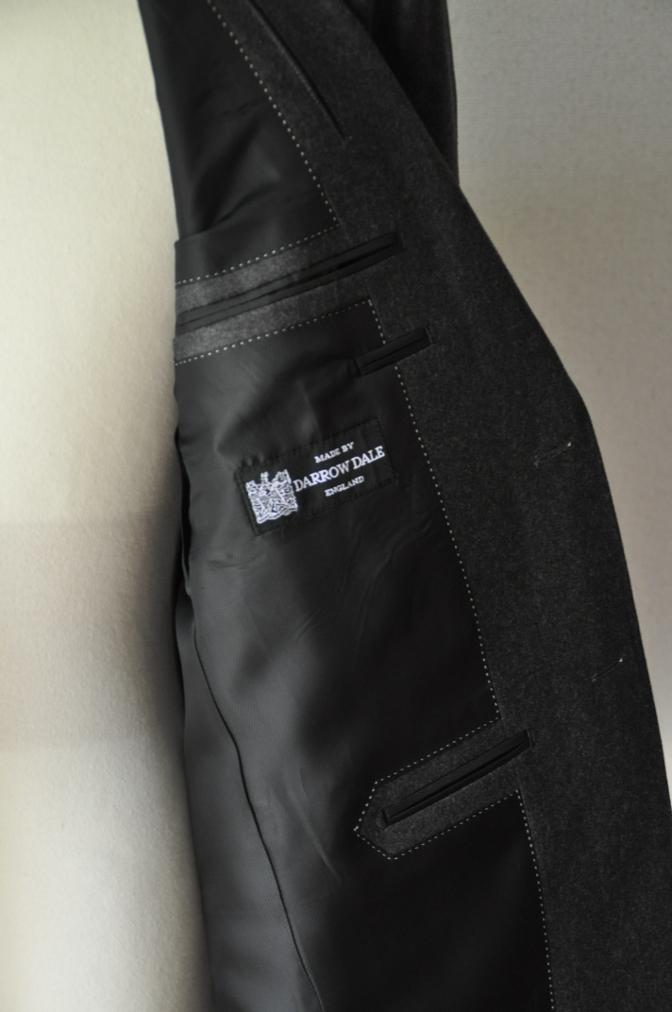 DSC0160 お客様のジャケットの紹介-DARROW DALE 無地グレーフランネル-