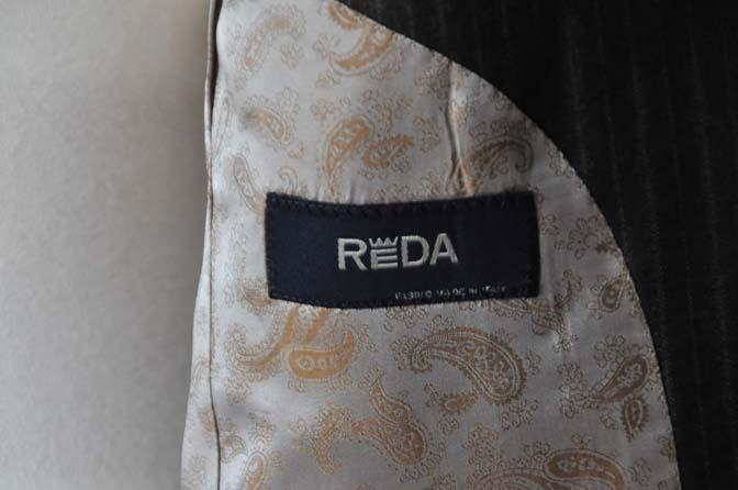 DSC0161-4 お客様のスーツの紹介-REDAネイビーストライプ- 名古屋の完全予約制オーダースーツ専門店DEFFERT