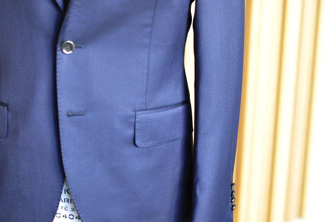 DSC0161-5 オーダースーツの紹介-REDA無地ネイビースーツ-