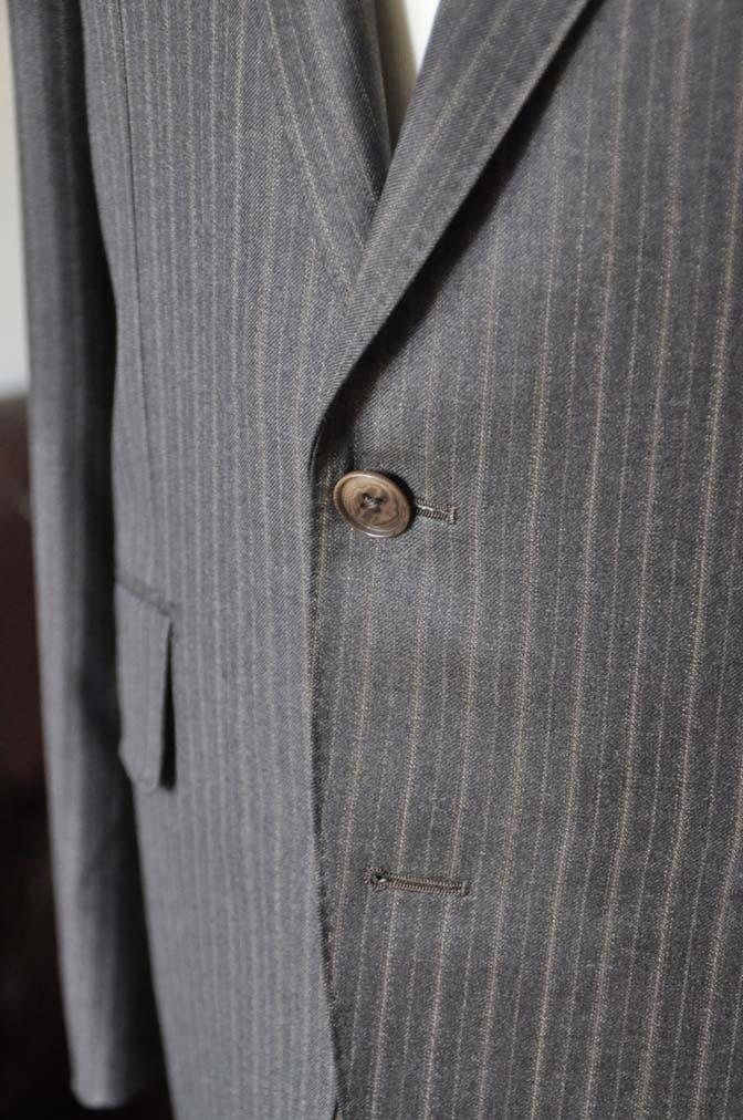 DSC0163-3 お客様のスーツの紹介-REDAネイビーストライプ- 名古屋の完全予約制オーダースーツ専門店DEFFERT