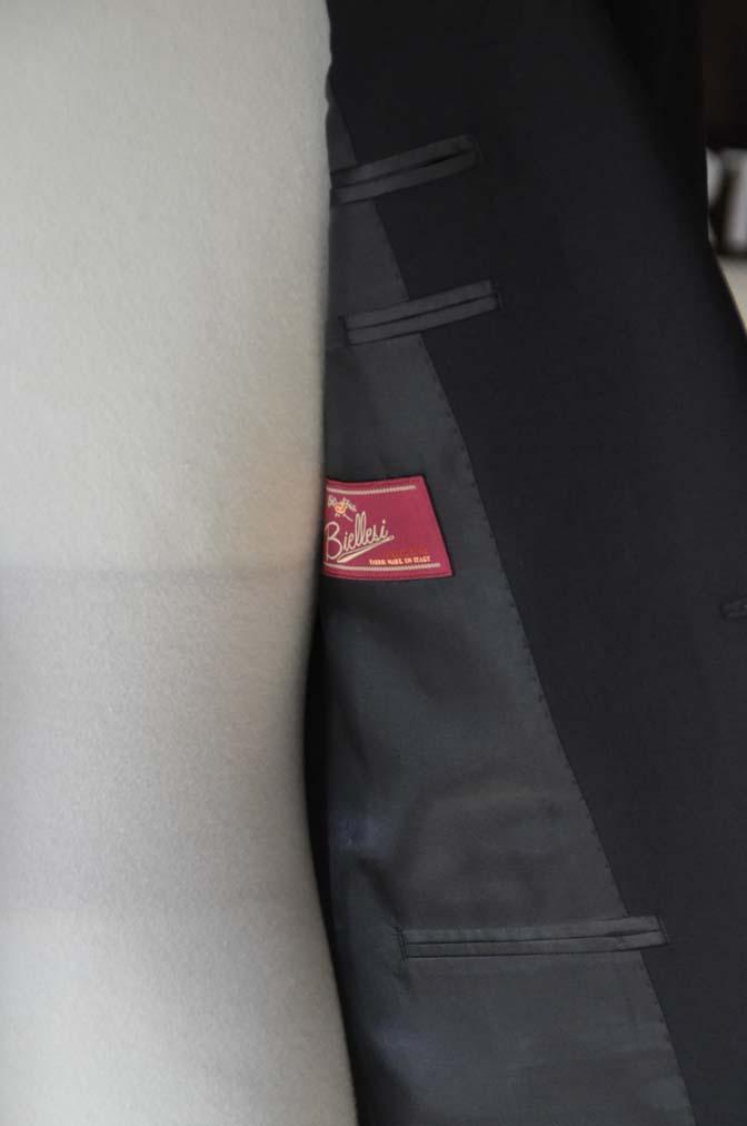 DSC0164-1 お客様のスーツの紹介- Biellesi ブラックスーツ-