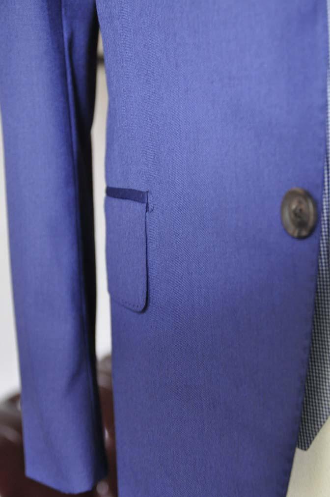 DSC0165-3 お客様のウエディング衣装の紹介-Biellesi ネイビースーツ グレー千鳥格子ベスト-
