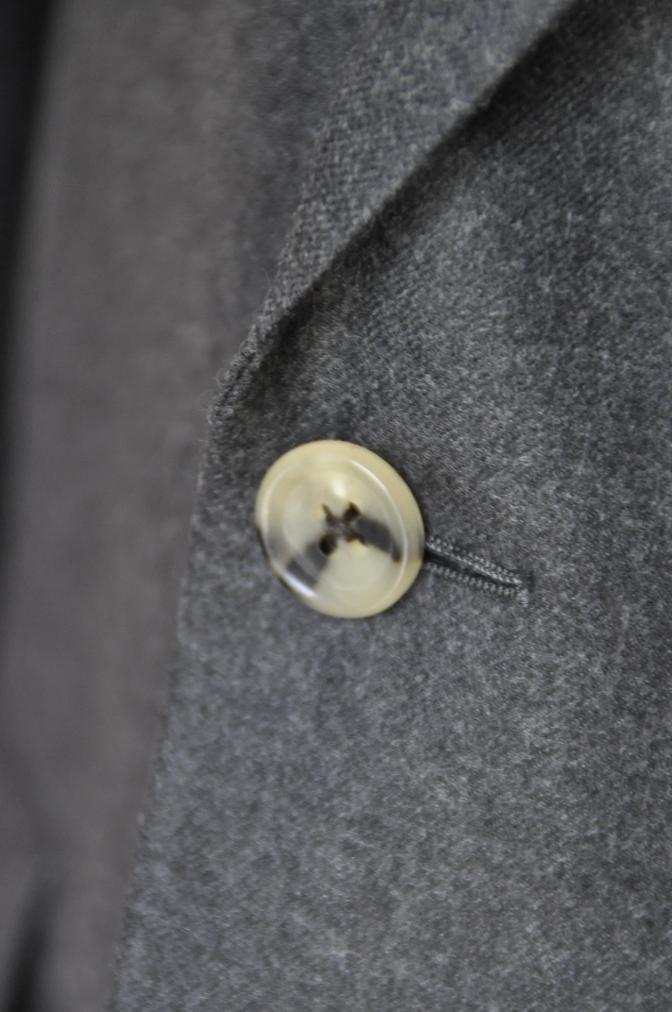 DSC0165 お客様のジャケットの紹介-DARROW DALE 無地グレーフランネル-