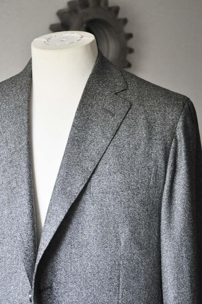 DSC0166-3 お客様のジャケットの紹介- Loro Piana Dream Tweed グレージャケット-