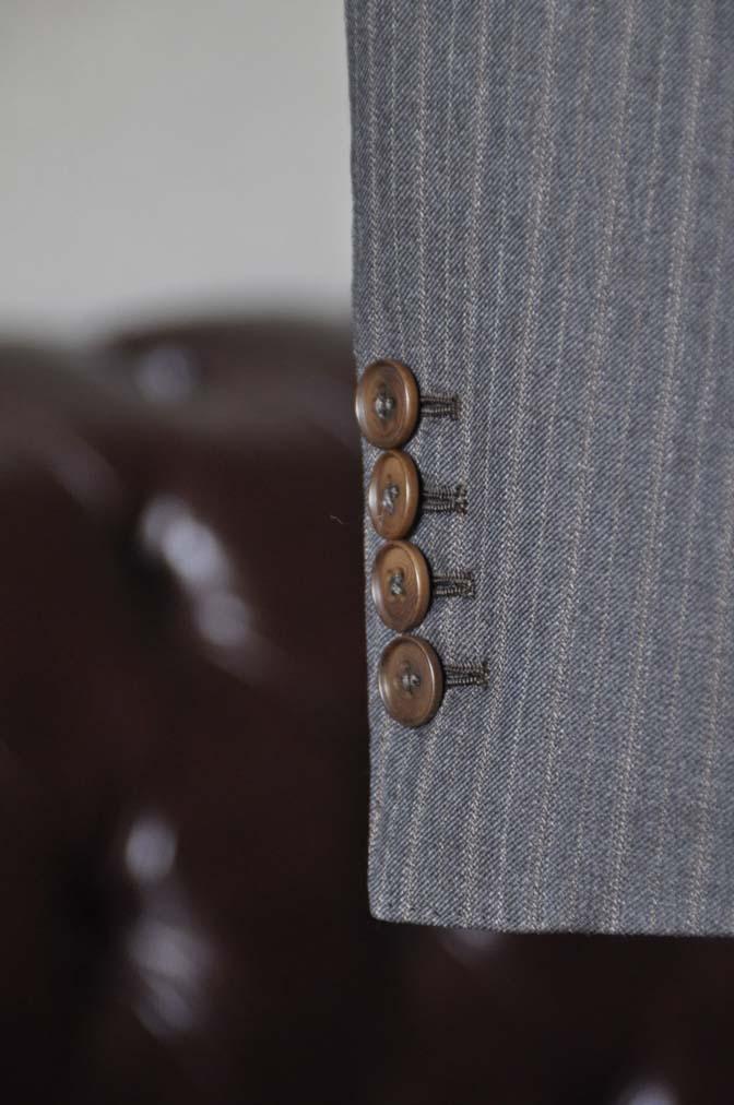 DSC0166-4 お客様のスーツの紹介-REDAネイビーストライプ- 名古屋の完全予約制オーダースーツ専門店DEFFERT