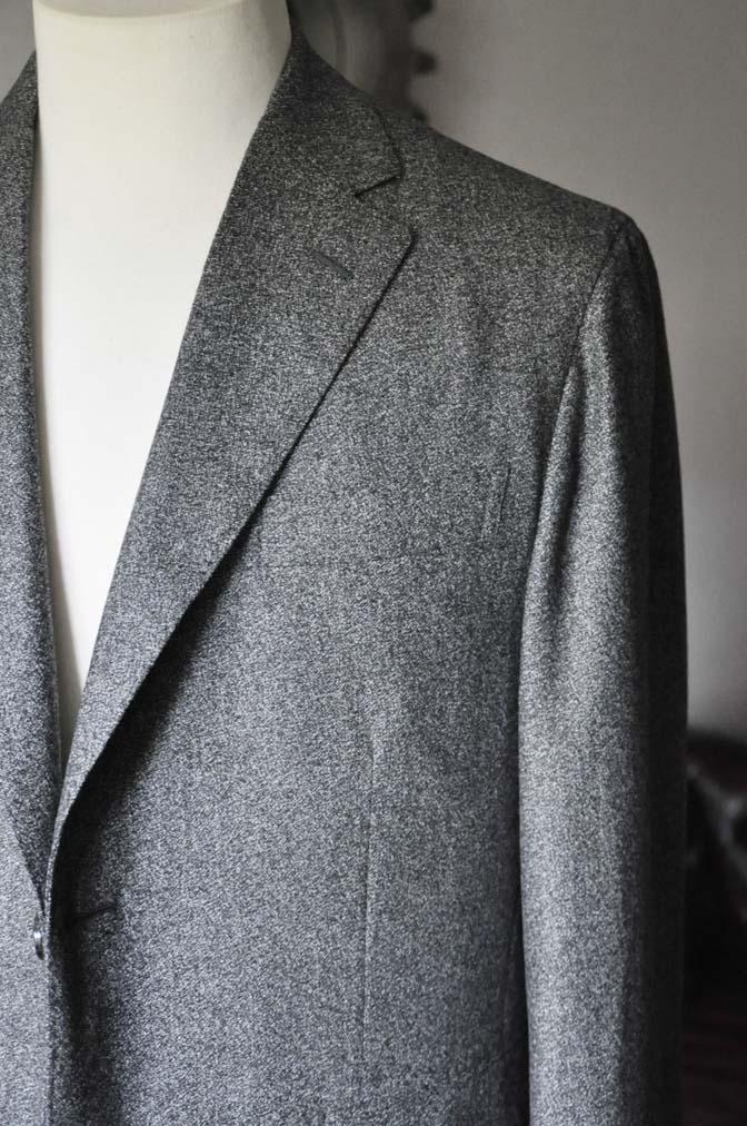 DSC0167-3 お客様のジャケットの紹介- Loro Piana Dream Tweed グレージャケット-