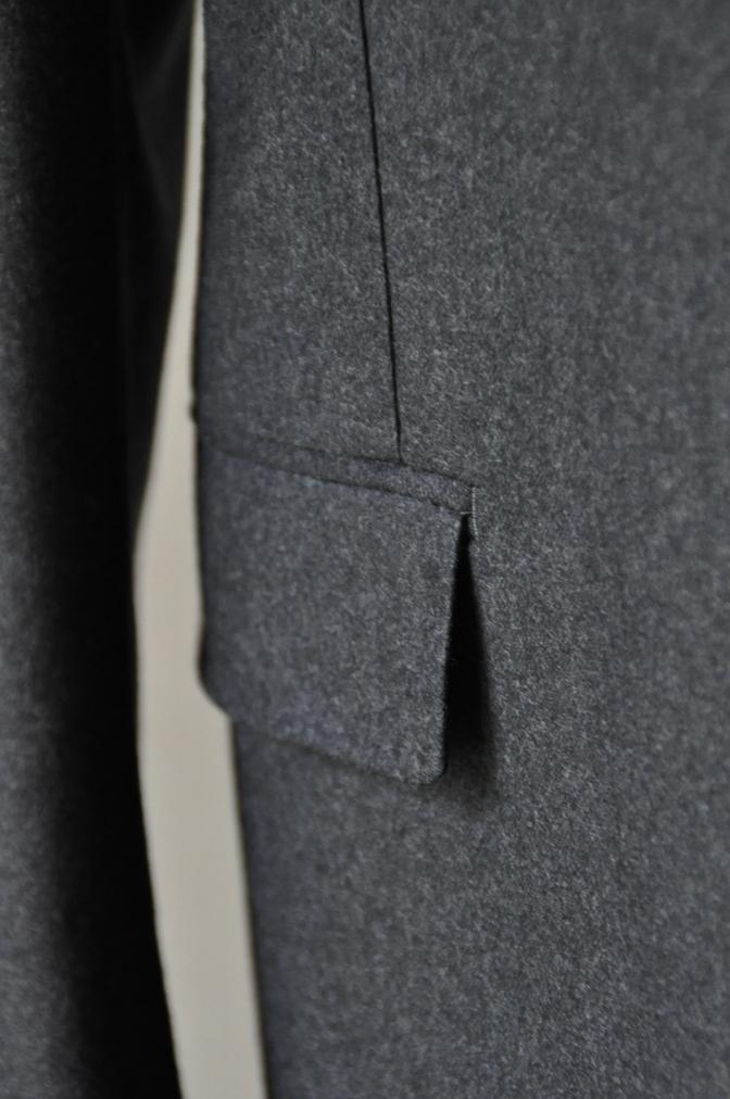 DSC0167 お客様のジャケットの紹介-DARROW DALE 無地グレーフランネル-