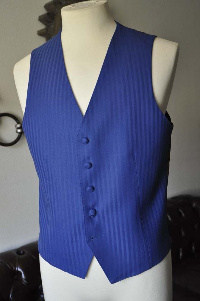 DSC0169-2 お客様のウエディング衣装の紹介- DARROW DALE ブルーヘリンボーンスリーピース-DSC0169-2 お客様のウエディング衣装の紹介- DARROW DALE ブルーヘリンボーンスリーピース- 名古屋市のオーダータキシードはSTAIRSへ