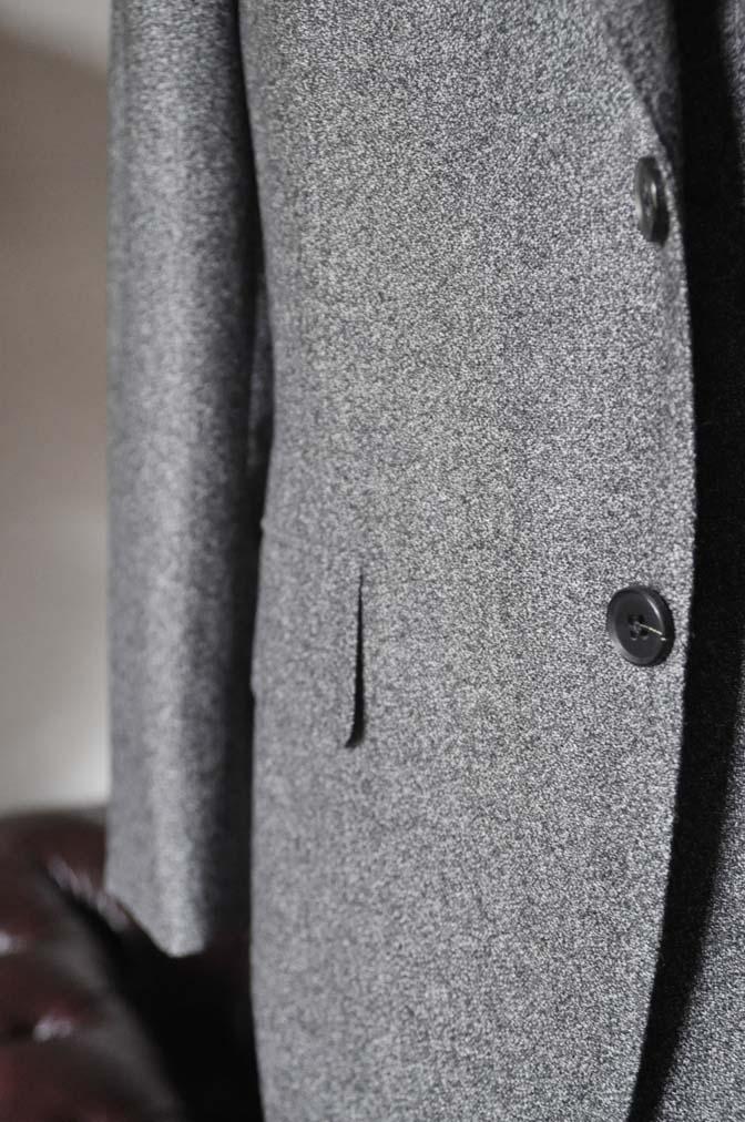 DSC0169-3 お客様のジャケットの紹介- Loro Piana Dream Tweed グレージャケット-