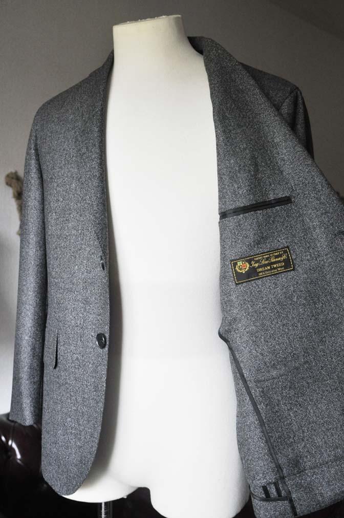 DSC0170-3 お客様のジャケットの紹介- Loro Piana Dream Tweed グレージャケット-