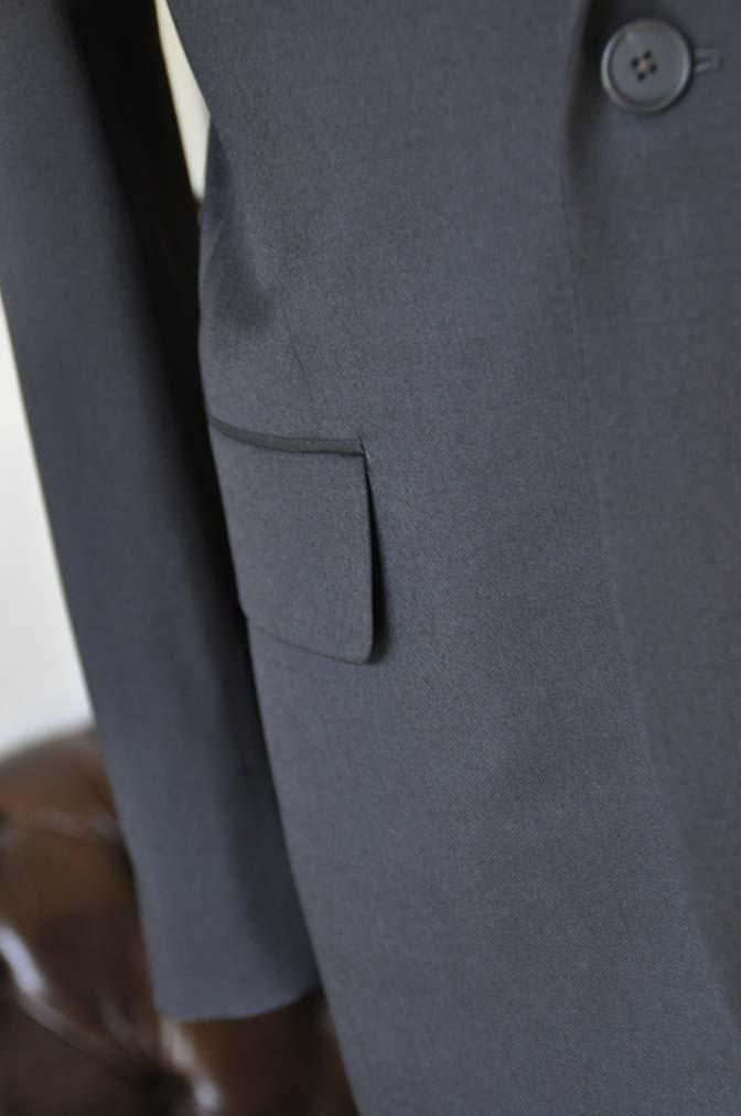DSC0171-1 お客様のスーツの紹介- Biellesi ブラックスーツ-