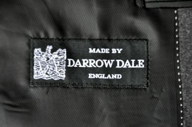 DSC0171 お客様のジャケットの紹介-DARROW DALE 無地グレーフランネル-