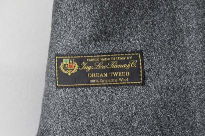 DSC0172-4 お客様のジャケットの紹介- Loro Piana Dream Tweed グレージャケット-