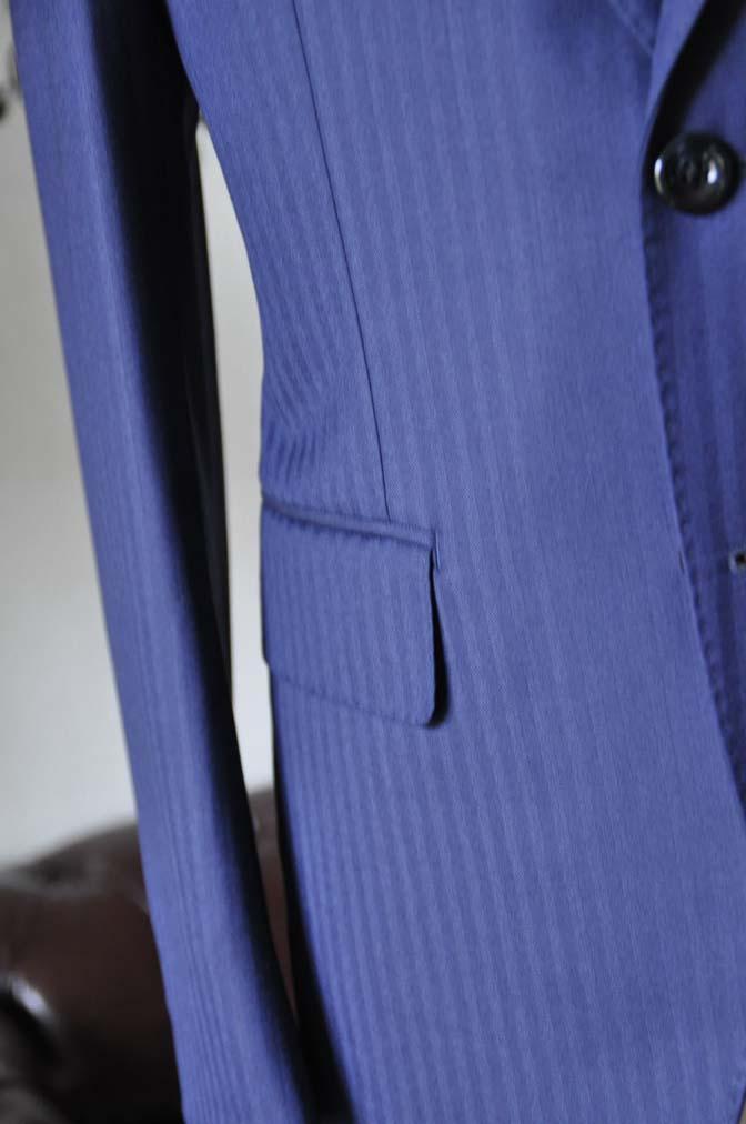 DSC0174-5 お客様のスーツの紹介-Biellesiネイビーヘリンボーンスーツ-