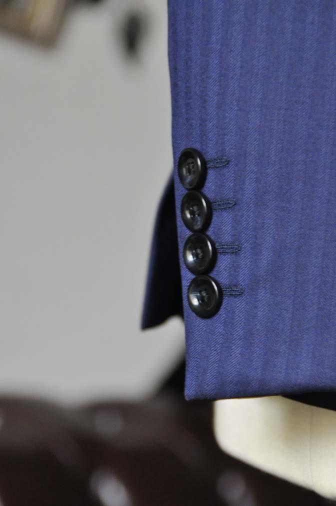 DSC0175-4 お客様のスーツの紹介-Biellesiネイビーヘリンボーンスーツ-