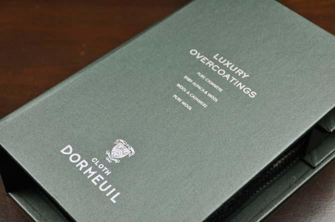 DSC0179-1 2018AW 生地バンチ入荷   「DORMEUIL –LUXURY OVERCOATINGS-」 名古屋の完全予約制オーダースーツ専門店DEFFERT