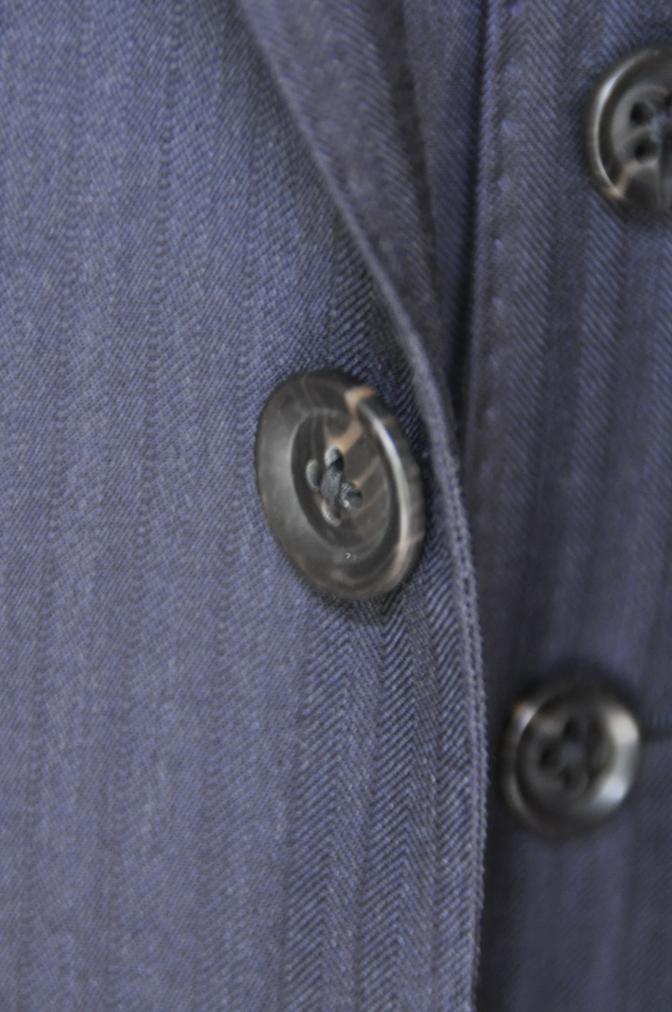 DSC0182 お客様のスーツの紹介-BIELLESI ネイビーストライプスリーピース-