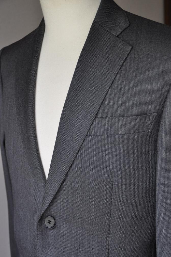 DSC01942 お客様のスーツの紹介-御幸毛織 Box Collection グレーバーズアイ- 名古屋の完全予約制オーダースーツ専門店DEFFERT