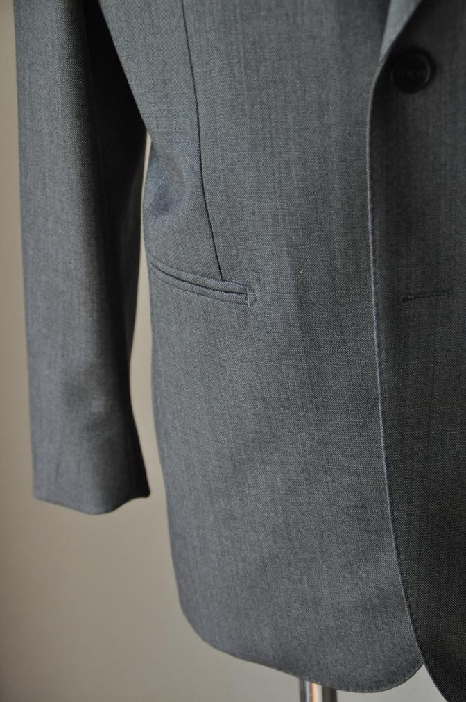 DSC02004 お客様のスーツの紹介-御幸毛織 Box Collection グレーバーズアイ- 名古屋の完全予約制オーダースーツ専門店DEFFERT