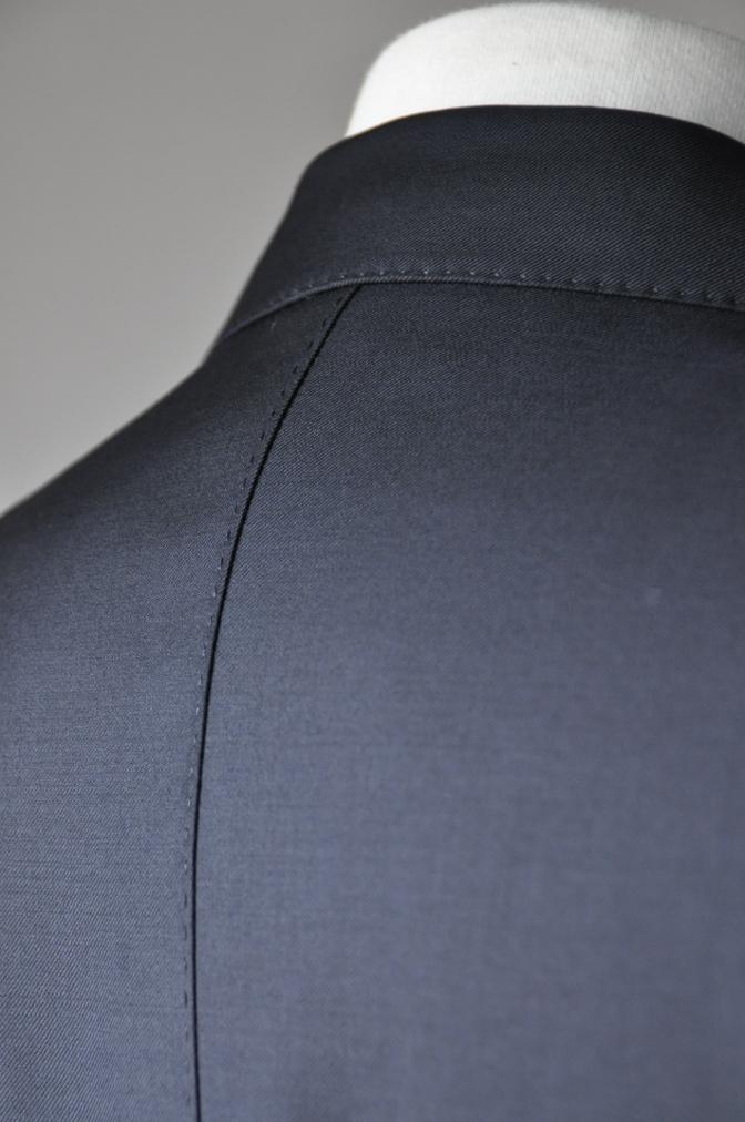 DSC02061 お客様のスーツの紹介-CANONICO ブラックスーツ-