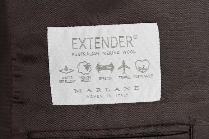 DSC02103-1 オーダースーツの紹介-MARLANE無地ネイビースーツ-