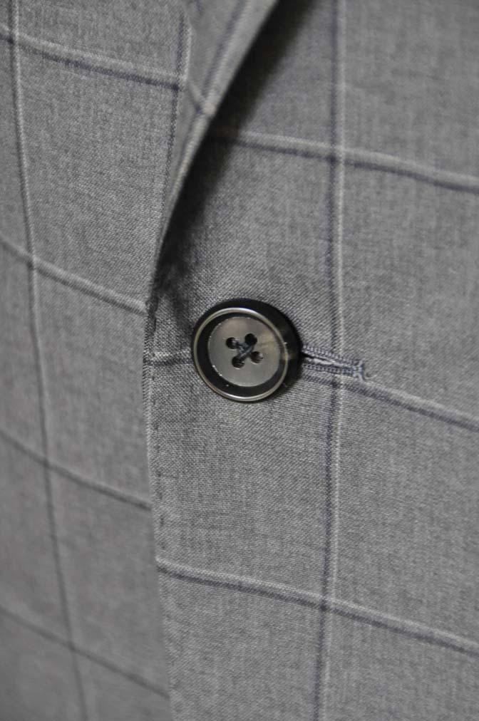 DSC02143 お客様のスーツの紹介-TALLIA DI DELFINO グレーウィンドペン-