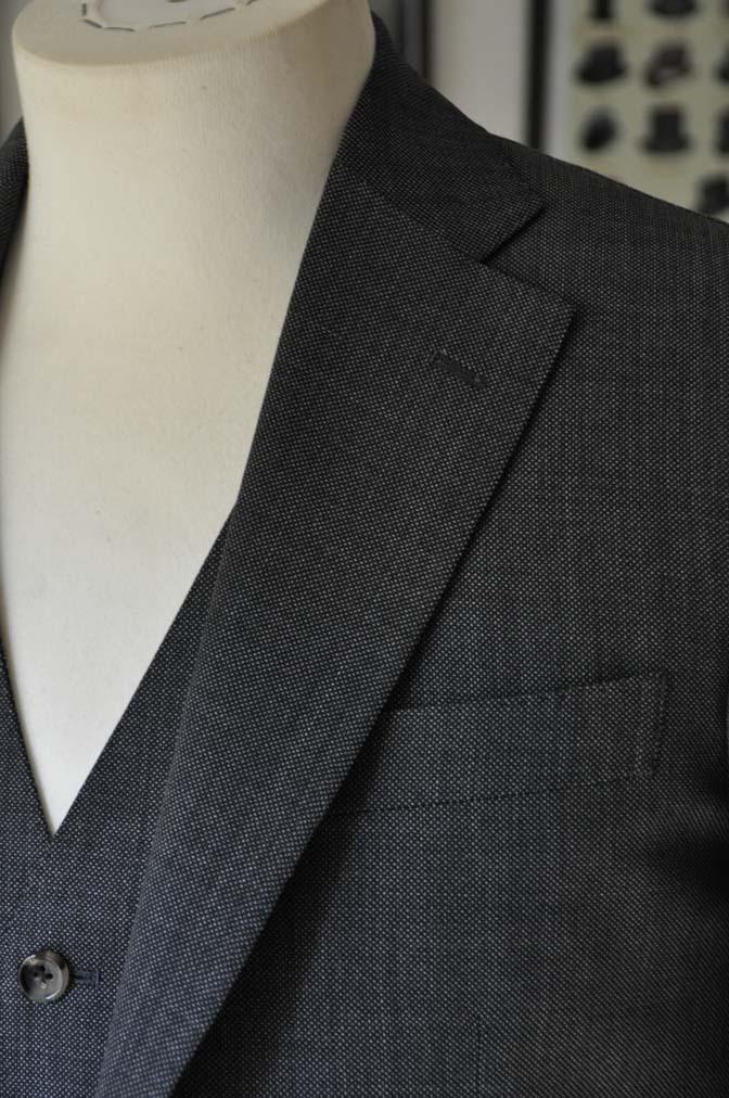 DSC02144 お客様のスーツの紹介- Biellesi グレーバーズアイ-
