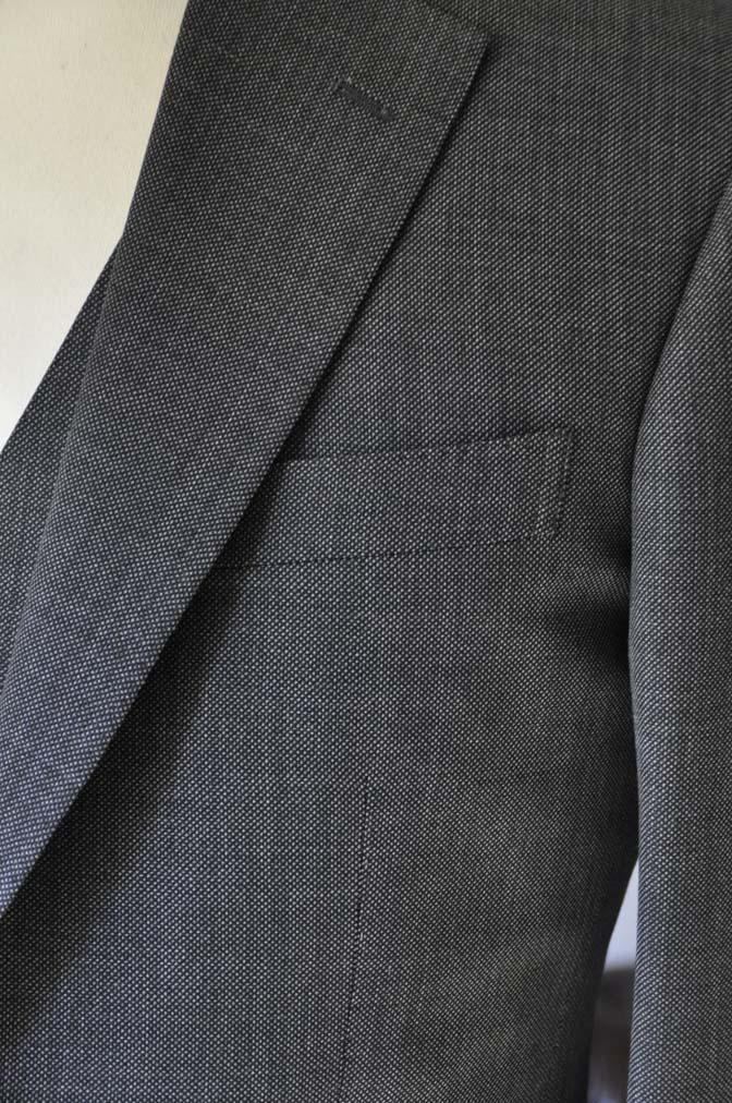 DSC02151 お客様のスーツの紹介- Biellesi グレーバーズアイ-
