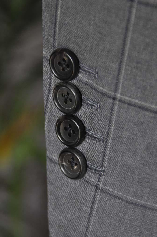DSC02163 お客様のスーツの紹介-TALLIA DI DELFINO グレーウィンドペン-