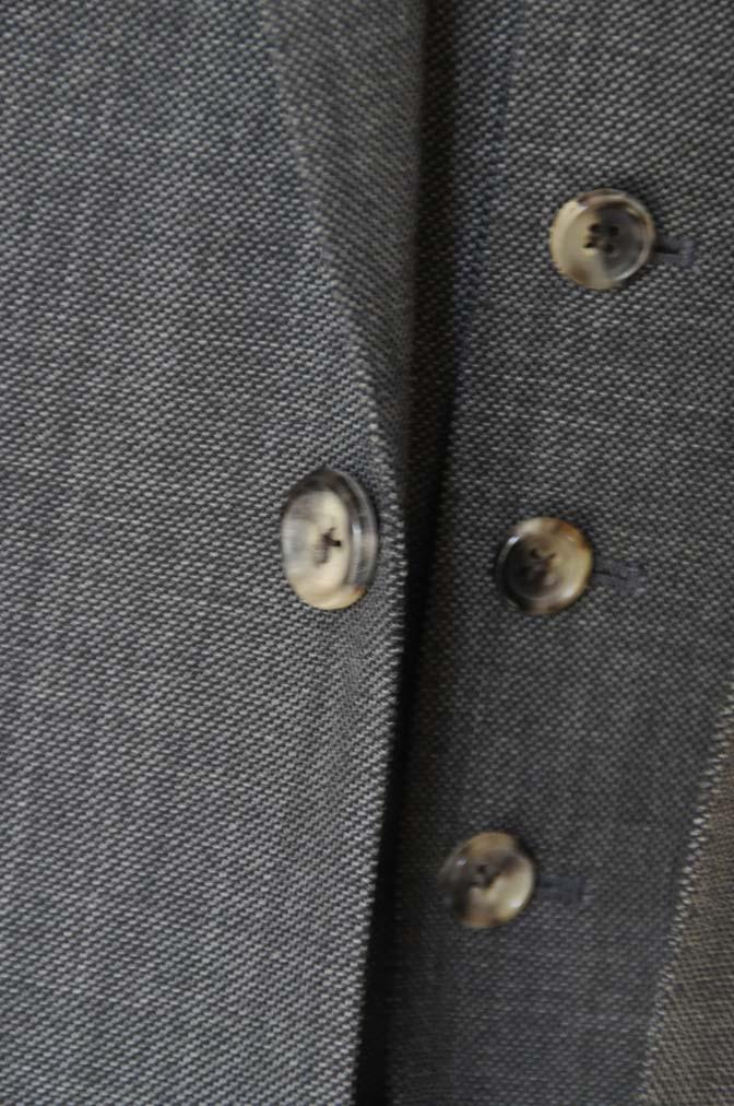 DSC02184 お客様のスーツの紹介- Biellesi グレーバーズアイ-