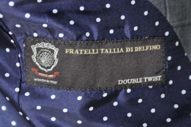 DSC02191 お客様のスーツの紹介-TALLIA DI DELFINO グレーウィンドペン-