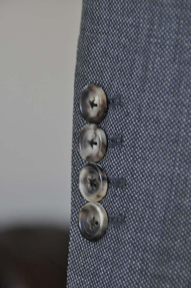 DSC02202 お客様のスーツの紹介- Biellesi グレーバーズアイ-