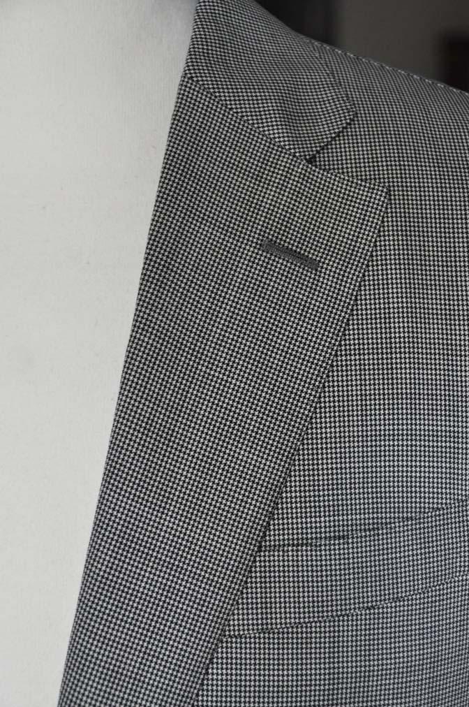DSC02272 お客様のスーツの紹介-DORMEUIL Tropical Amadeus グレー千鳥格子 - 名古屋の完全予約制オーダースーツ専門店DEFFERT