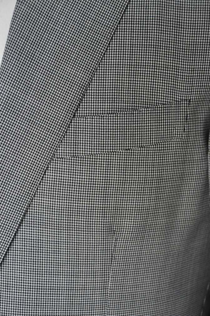 DSC02283 お客様のスーツの紹介-DORMEUIL Tropical Amadeus グレー千鳥格子 - 名古屋の完全予約制オーダースーツ専門店DEFFERT