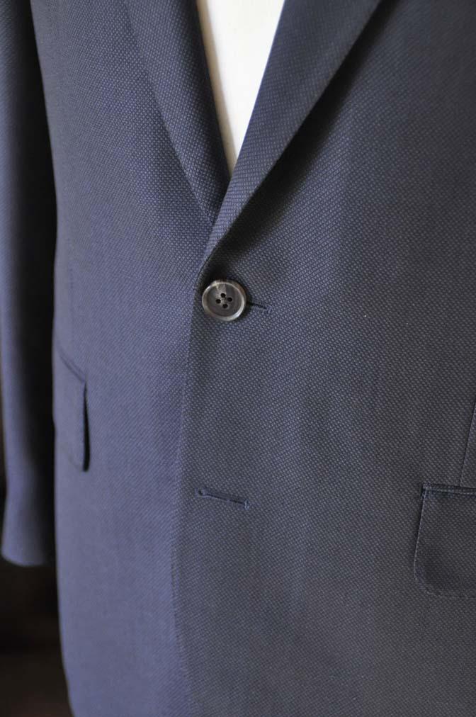 DSC0229-1 お客様のスーツの紹介- Biellesi ネイビーバーズアイ- 名古屋の完全予約制オーダースーツ専門店DEFFERT