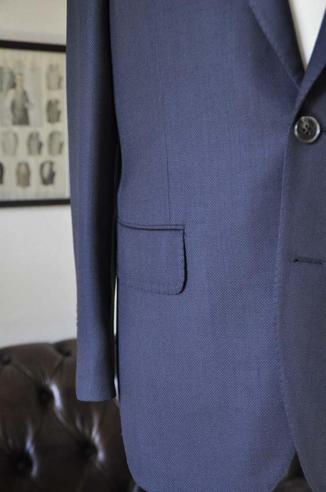 DSC0230-1 お客様のスーツの紹介- Biellesi ネイビーバーズアイ-