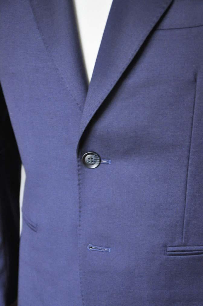 DSC0230-2 お客様のスーツの紹介- Biellesi 無地ネイビースーツ-